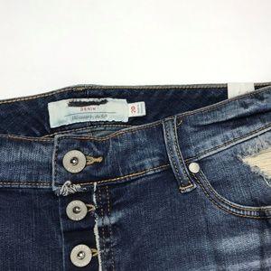 73b88a8207b torrid Shorts - Button Fly Short Short Medium Wash NWT